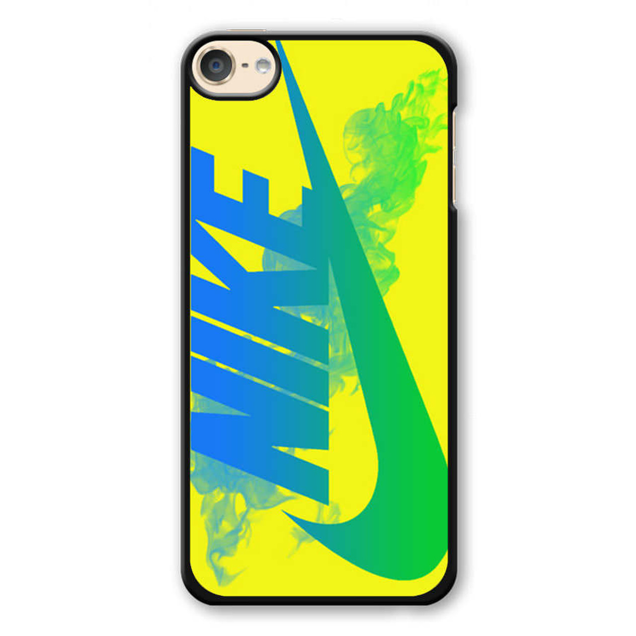 best cheap 36b52 9b9ec Nike Logo in Yellow iPod Touch 6 Case