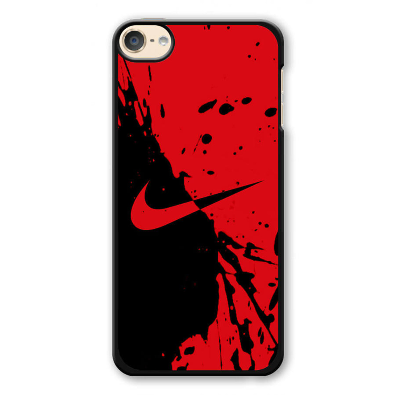 the best attitude 5067c b080b Nike Red and Black iPod Touch 6 Case