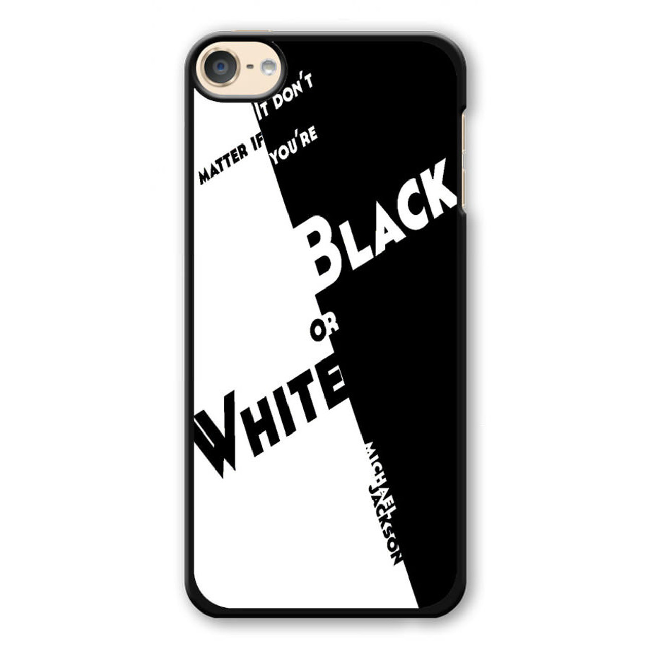 wholesale dealer f8ddd 53534 Black Or White Michael Jackson iPod Touch 6 Case