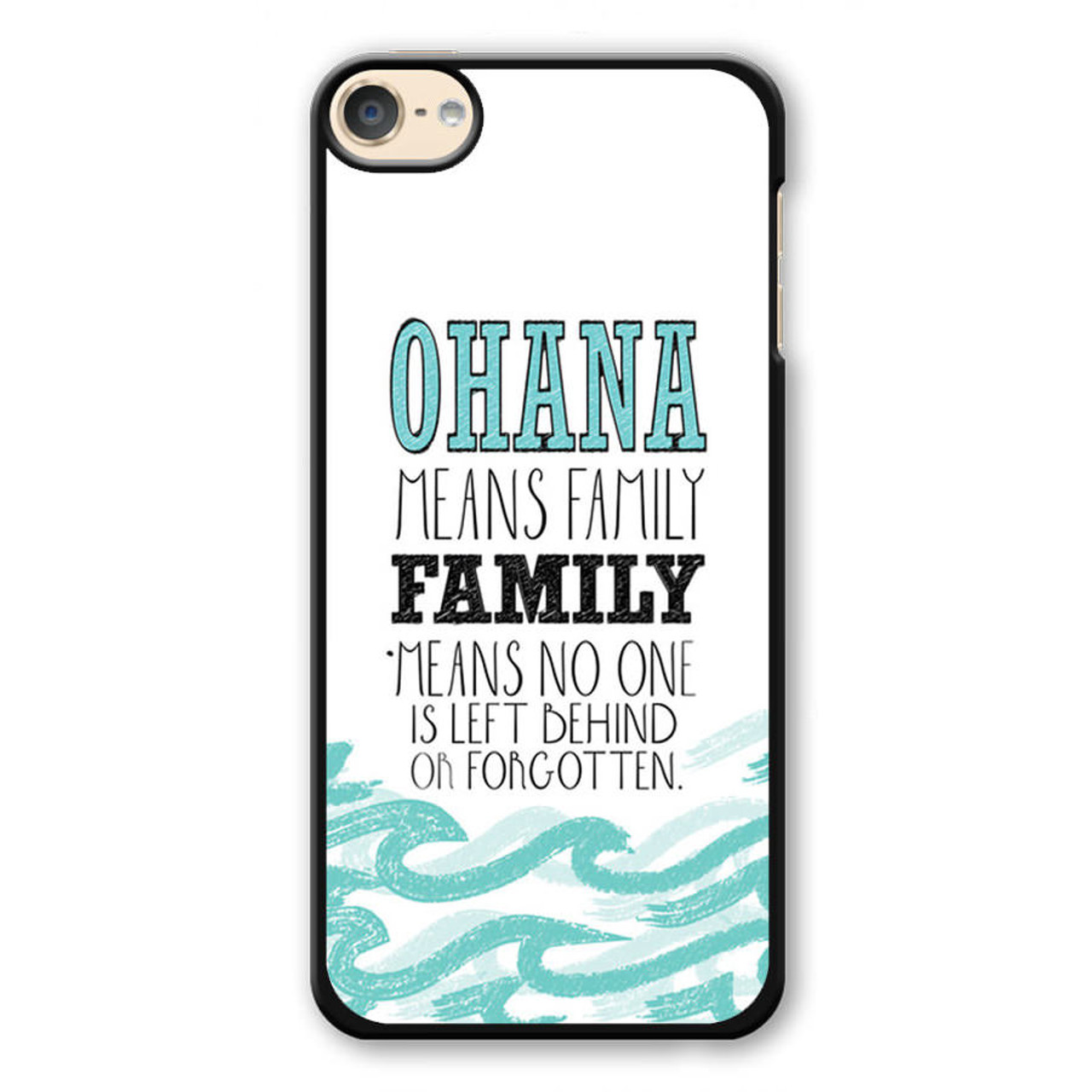 low priced e21b9 38c2e Ohana Means Family Lilo and Stitch Disney iPod Touch 6 Case
