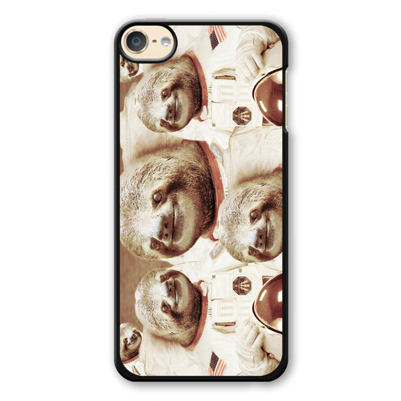 Dolla Dolla Bill Sloth Astronaut iPod Touch 6 Case - CASESHUNTER 4f318a6c2
