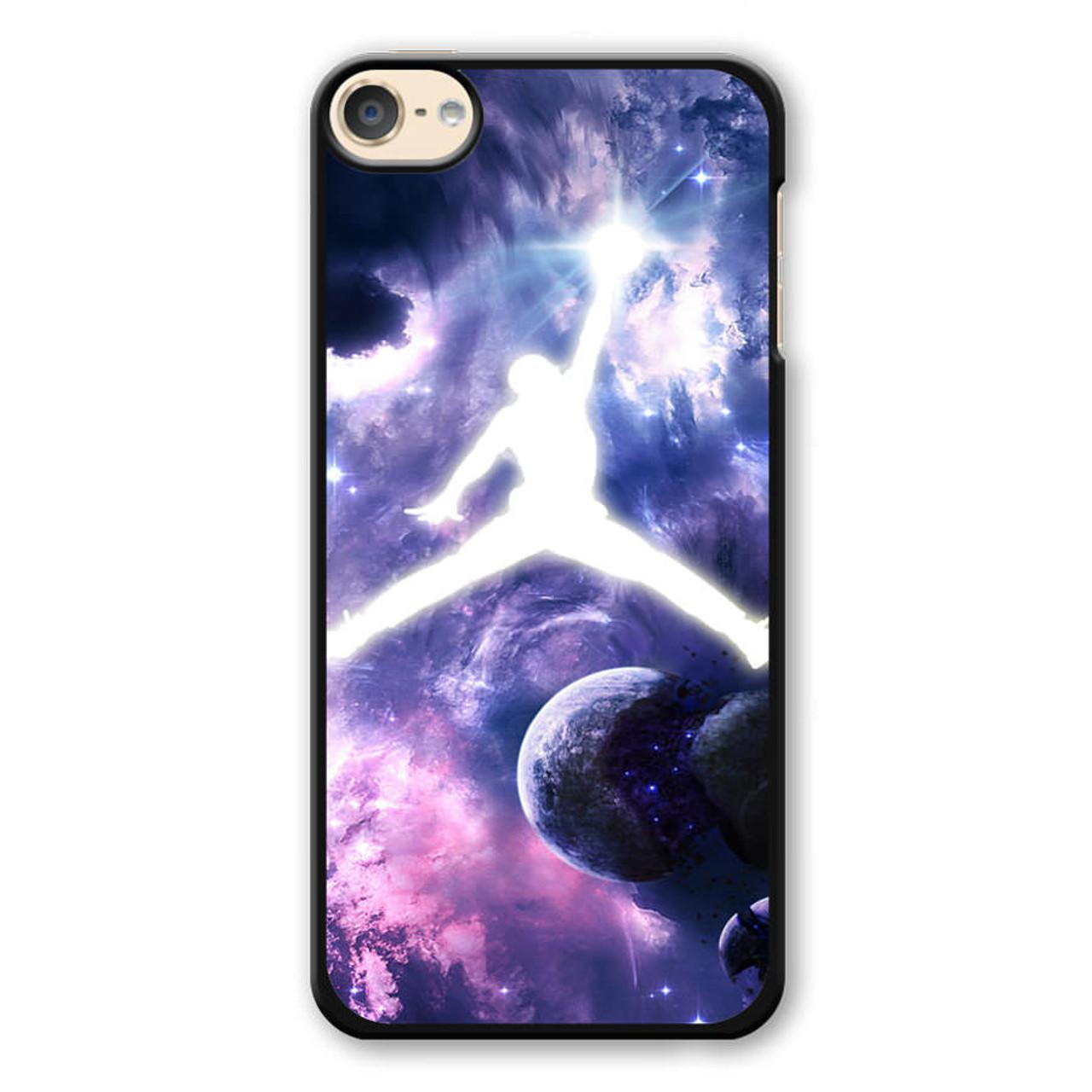 on sale bba85 b37e0 Michael Jordan In Galaxy Nebula iPod Touch 6 Case