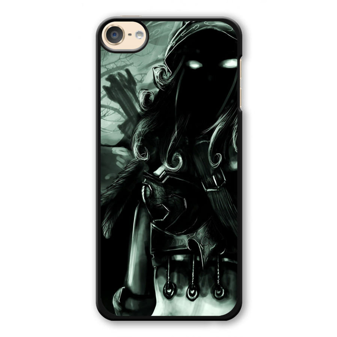 new product 79ec5 5202e World of Warcraft Black iPod Touch 6 Case