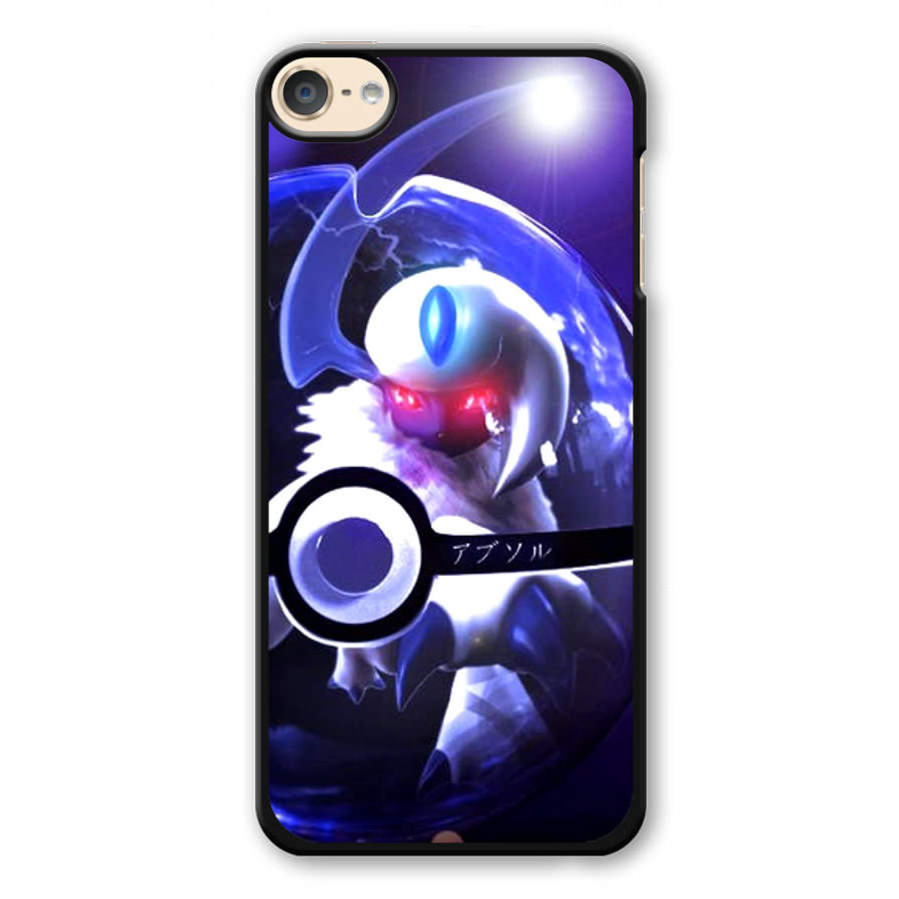 on sale 3f381 2f522 Pokemon Absol Pokeball iPod Touch 6 Case