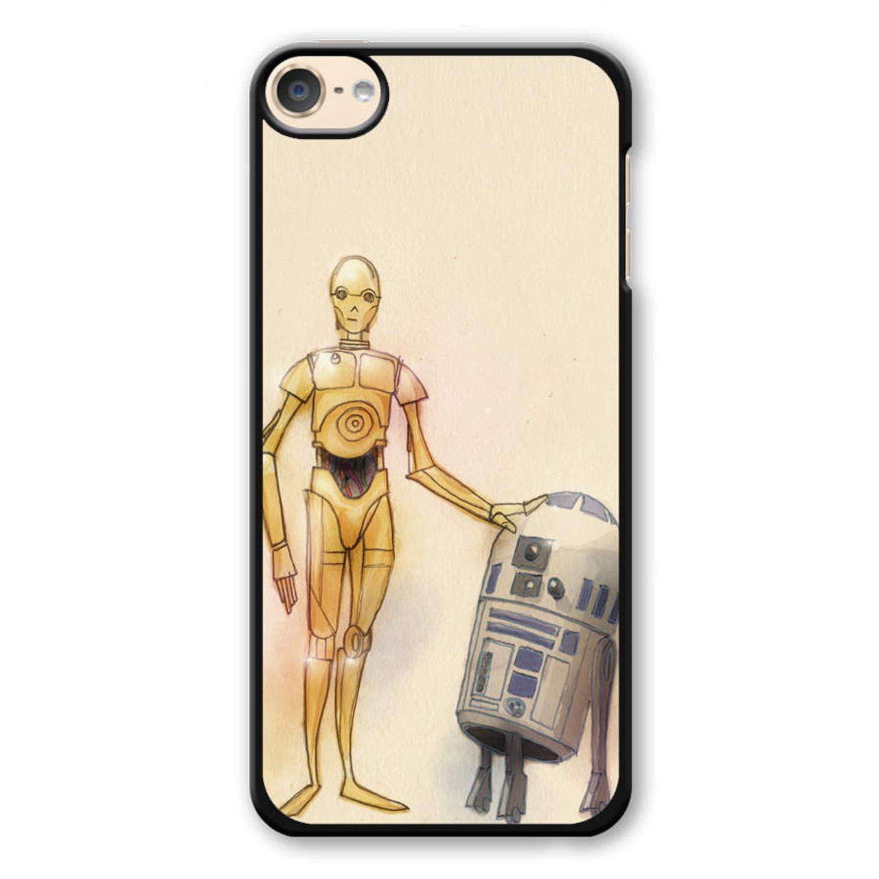 best authentic d9dcd c1552 Star Wars C-3PO & R2-D2 iPod Touch 6 Case