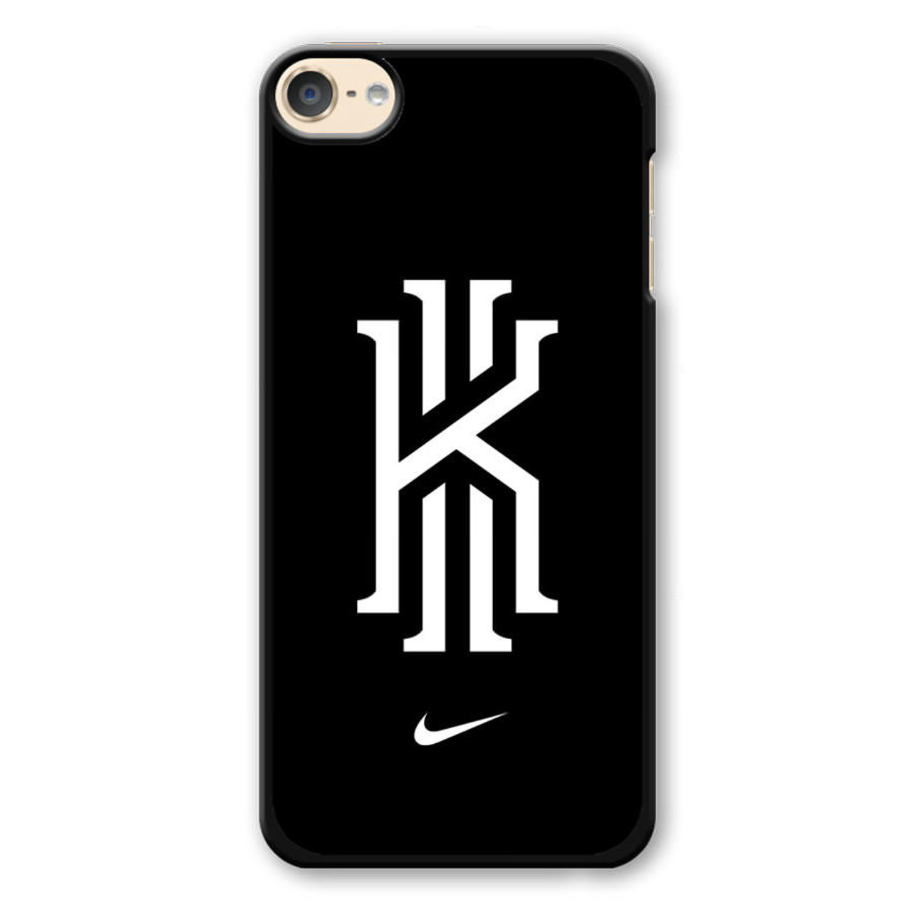 half off 8b75f fd65f Kyrie Irving Nike Logo Black1 iPod Touch 6 Case