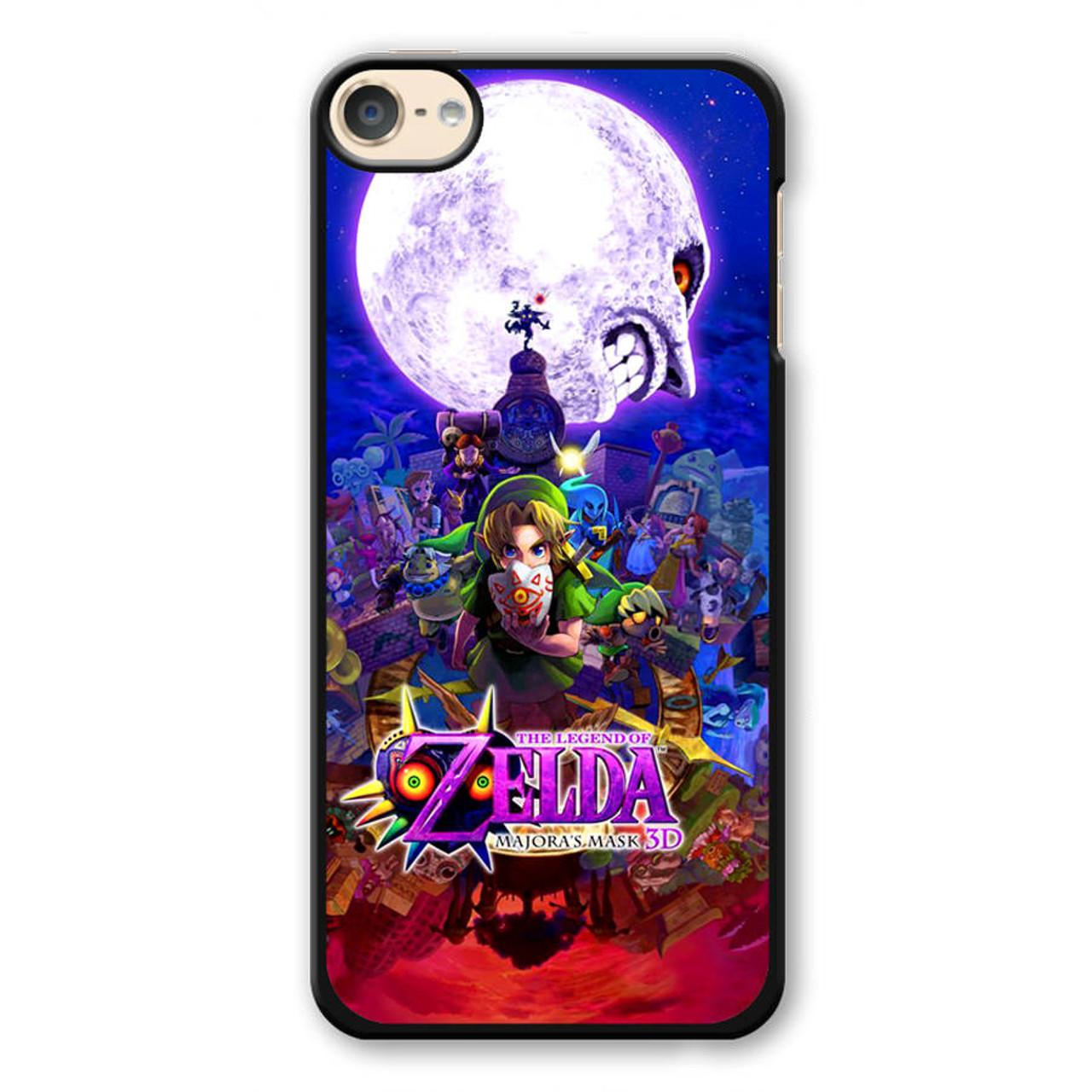 best service a39b6 593de Zelda Majora's Mask 3D iPod Touch 6 Case