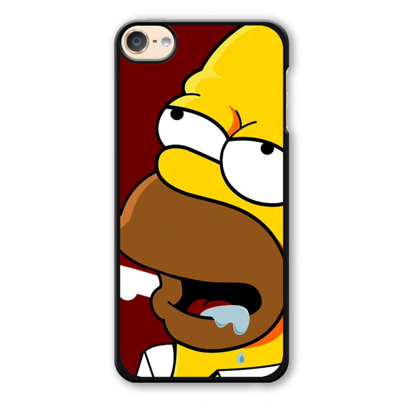pretty nice ddd0b 2eef9 Homer Drooling iPod Touch 6 Case