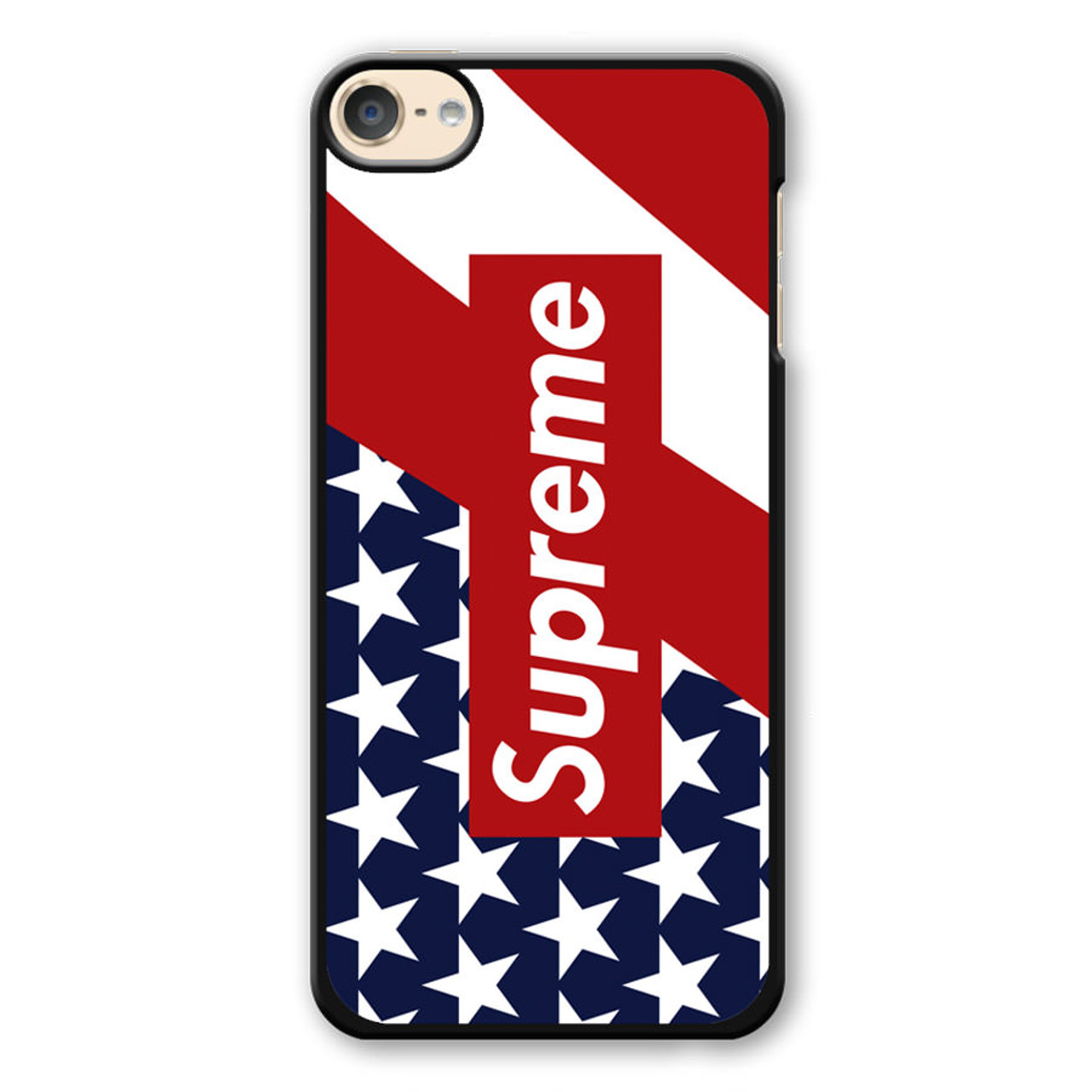 hot sale online 51340 a14cf Supreme Flag iPod Touch 6 Case