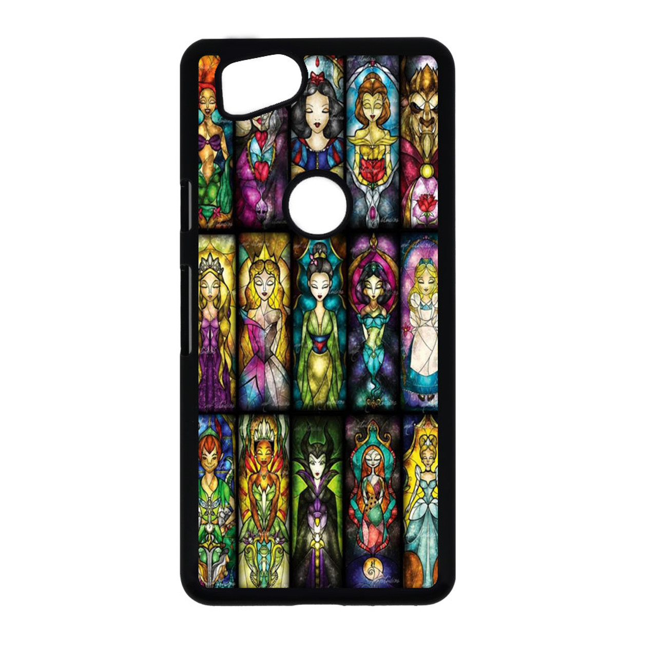 newest collection a5e11 a6dd1 All Princess disney stained glass Google Pixel 2 Case