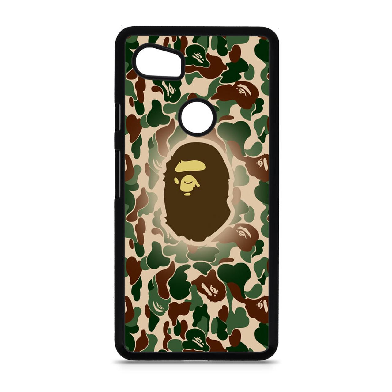 new product 3eb96 d5885 Bathing Ape Bape Camo Google Pixel 2 XL Case