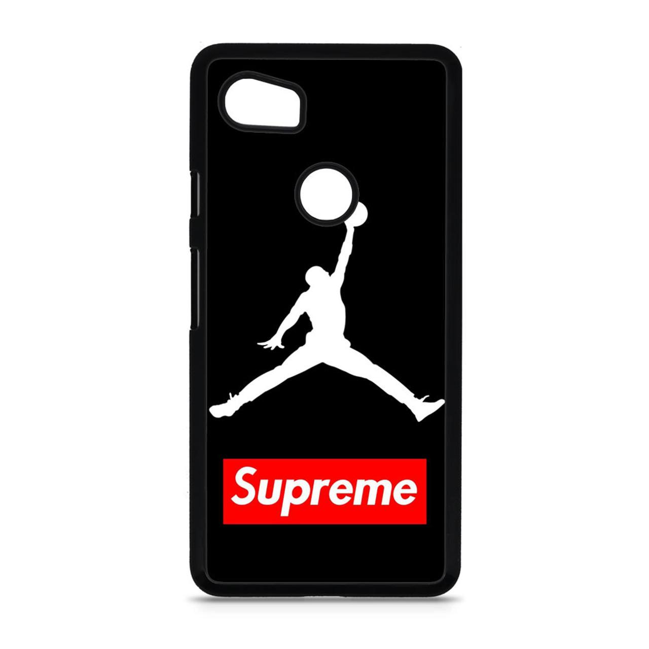 best loved 122cf 47624 Supreme Air Jordan Google Pixel 2 XL Case