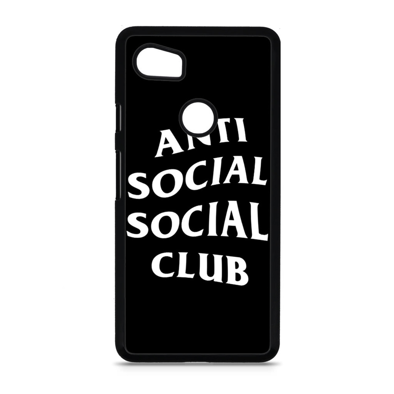 6b20f88b249d Anti Social Social Club Black Google Pixel 2 XL Case - CASESHUNTER