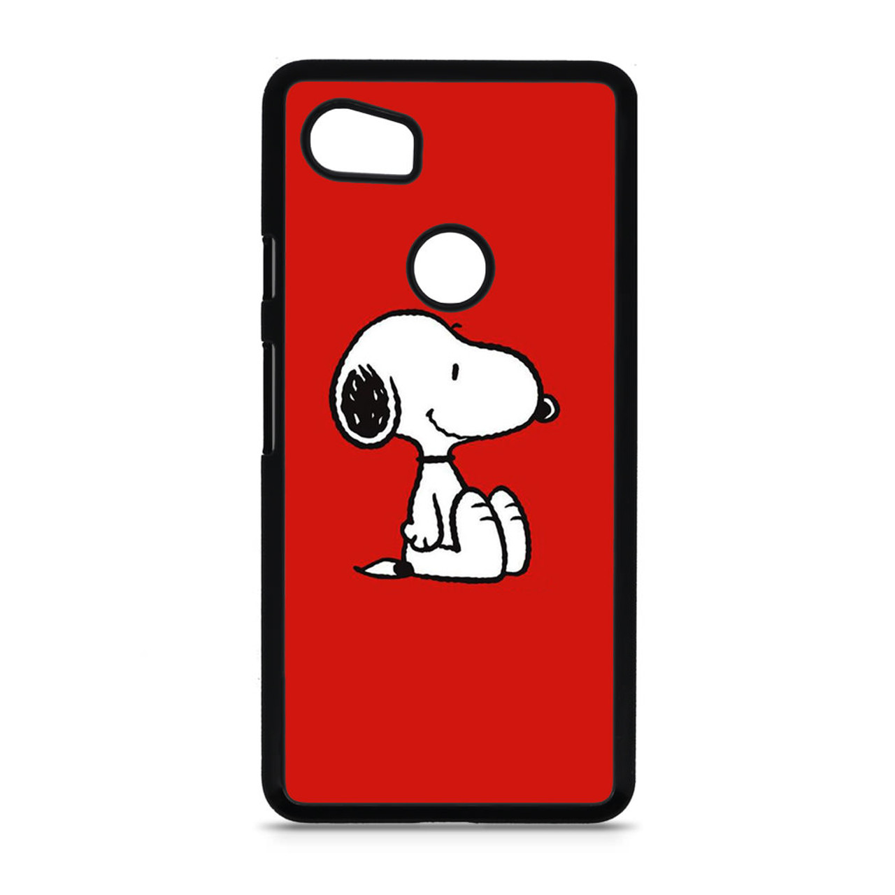 brand new 0087e 3a0d6 Snoopy Red Google Pixel 2 XL Case