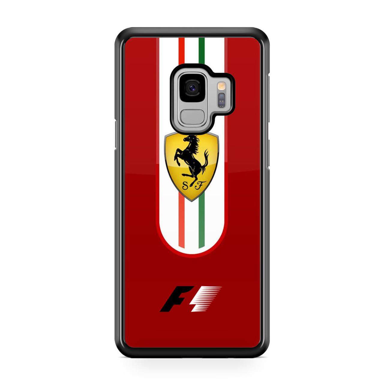 los angeles 7acec 4d9b2 Ferrari Red F1 Samsung Galaxy S9 Case