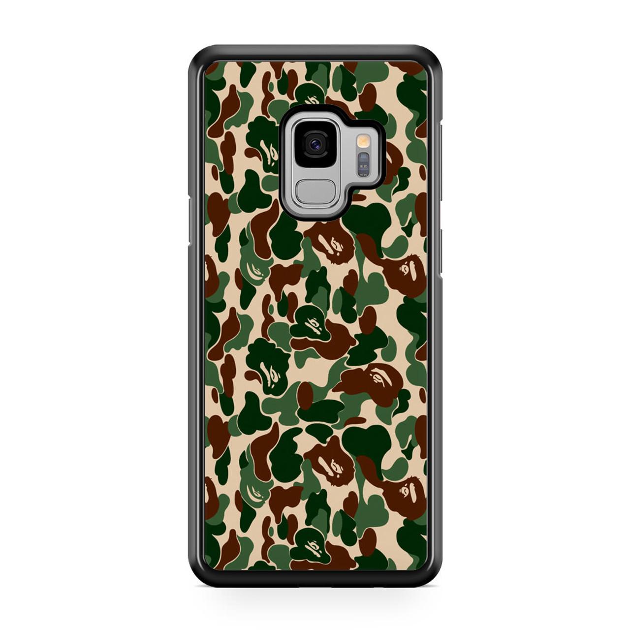 meet 25bab b1573 Bathing Ape Bape Camo Real Tree Samsung Galaxy S9 Case