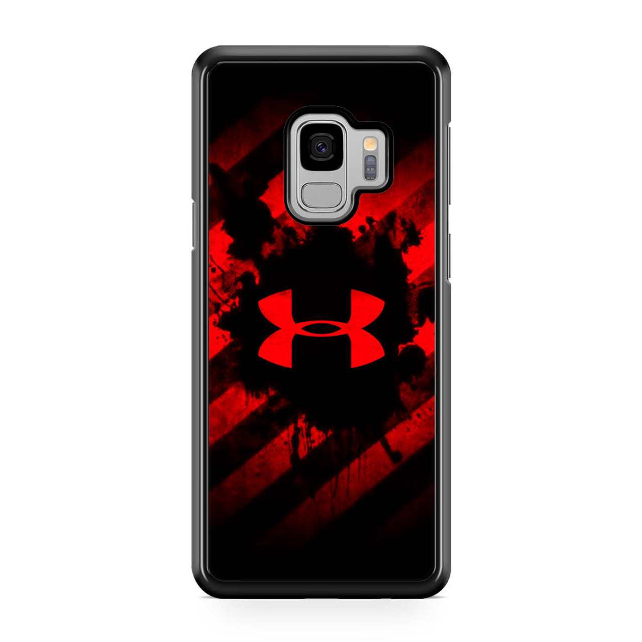 new products 87810 75431 Under Armour Red Art Samsung Galaxy S9 Case