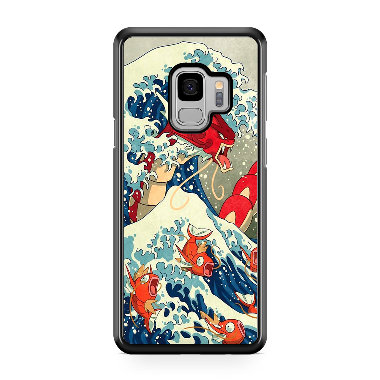 huge selection of 80e14 665bd The Great Wave Of Kanto Pokemon Samsung Galaxy S9 Case