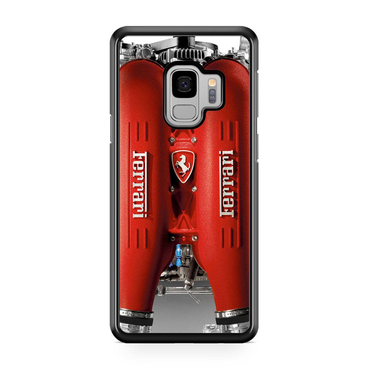 official photos 116a0 9ca16 Ferrari V12 Samsung Galaxy S9 Case