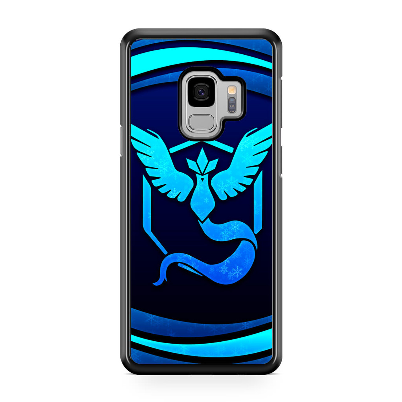 newest 567fe 12f27 Video Game Pokemon Go Team Mystic Samsung Galaxy S9 Case