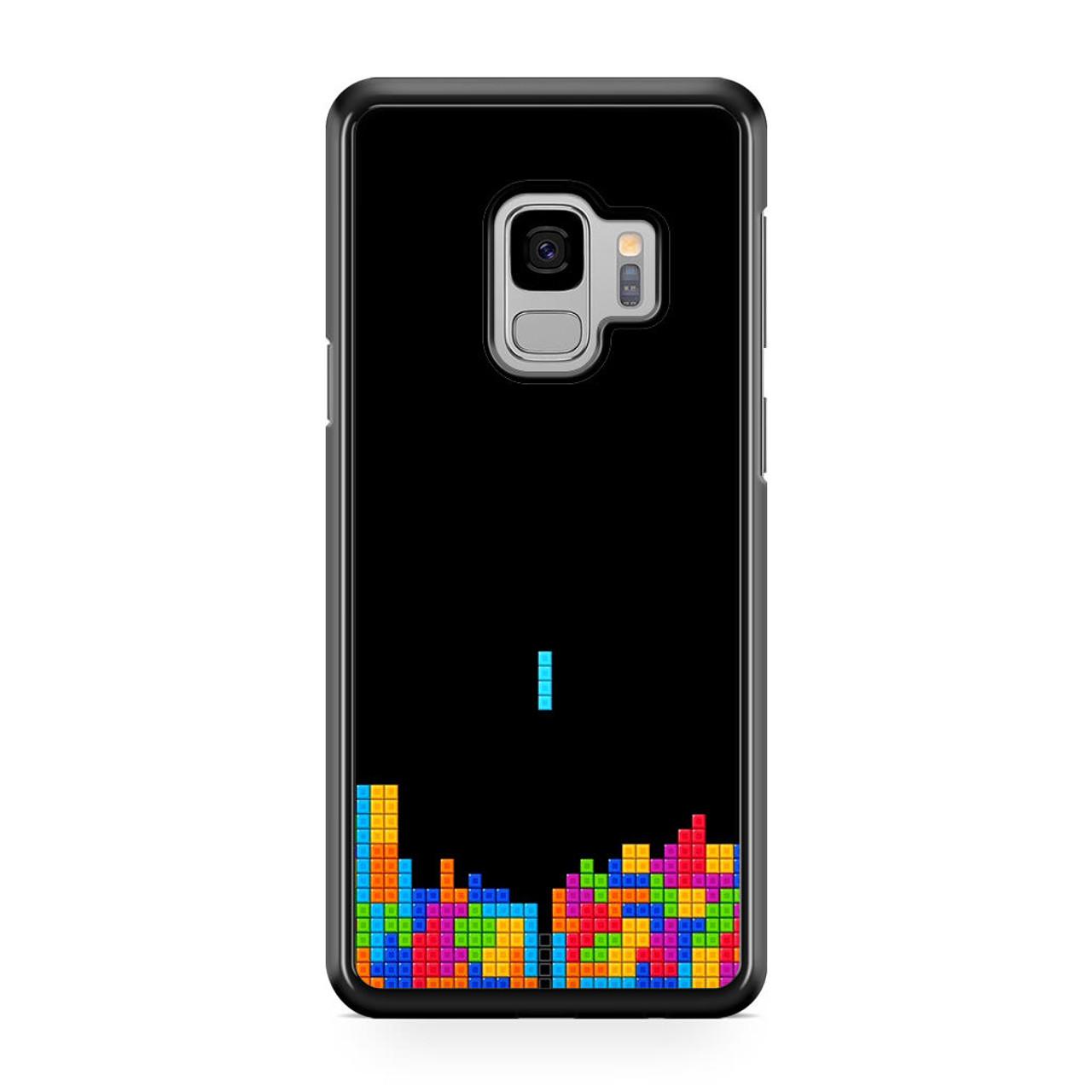 Classic Video Game Tetris Samsung Galaxy S9 Case