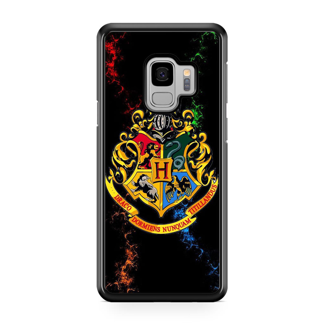 purchase cheap 250eb 5f26a Harry Potter Hogwarts Emblem Samsung Galaxy S9 Case - CASESHUNTER