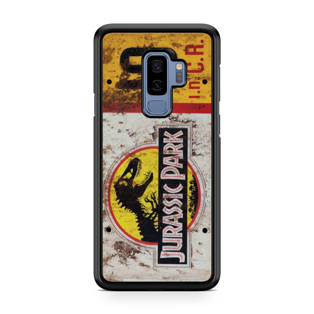 new style 41952 c9e5a Jurassic Park Jeep License Number 10 Samsung Galaxy S9 Plus Case