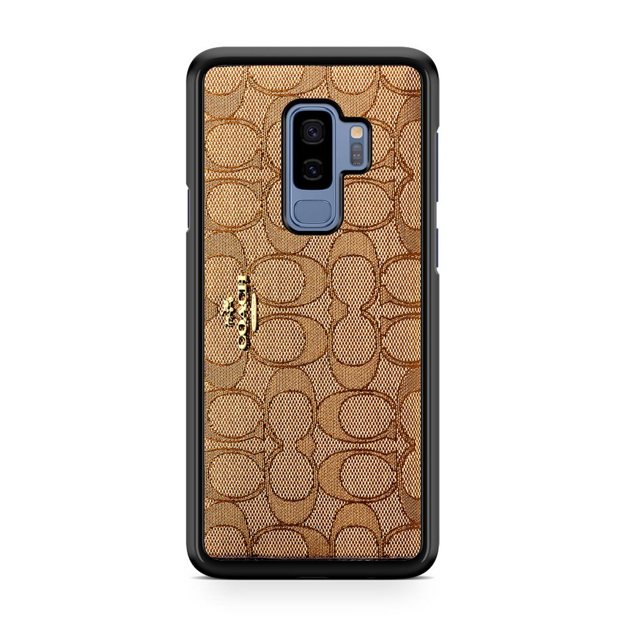 best service a366d 4252b Coach Wallet Samsung Galaxy S9 Plus Case