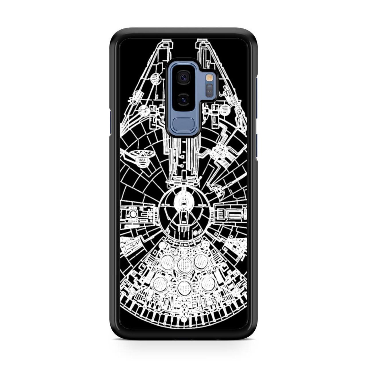 size 40 e9846 d22d1 Star Wars Millenium Falcon Samsung Galaxy S9 Plus Case