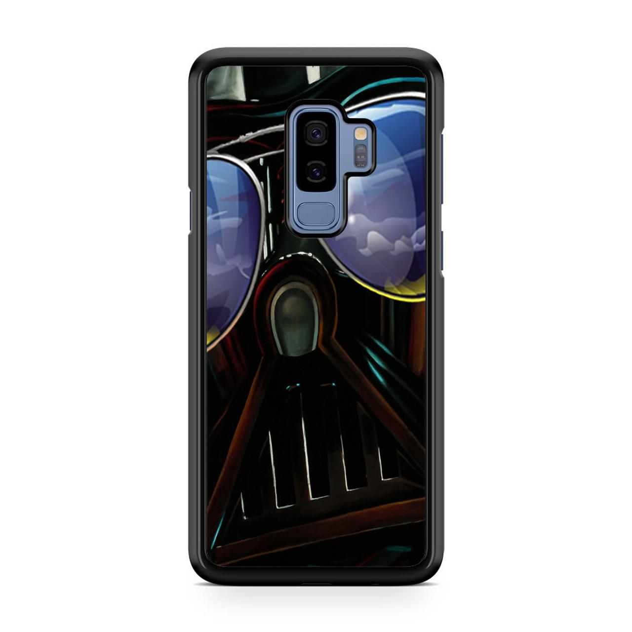 premium selection 7989d 90434 Star Wars Darth Vader Sunglasses Samsung Galaxy S9 Plus Case