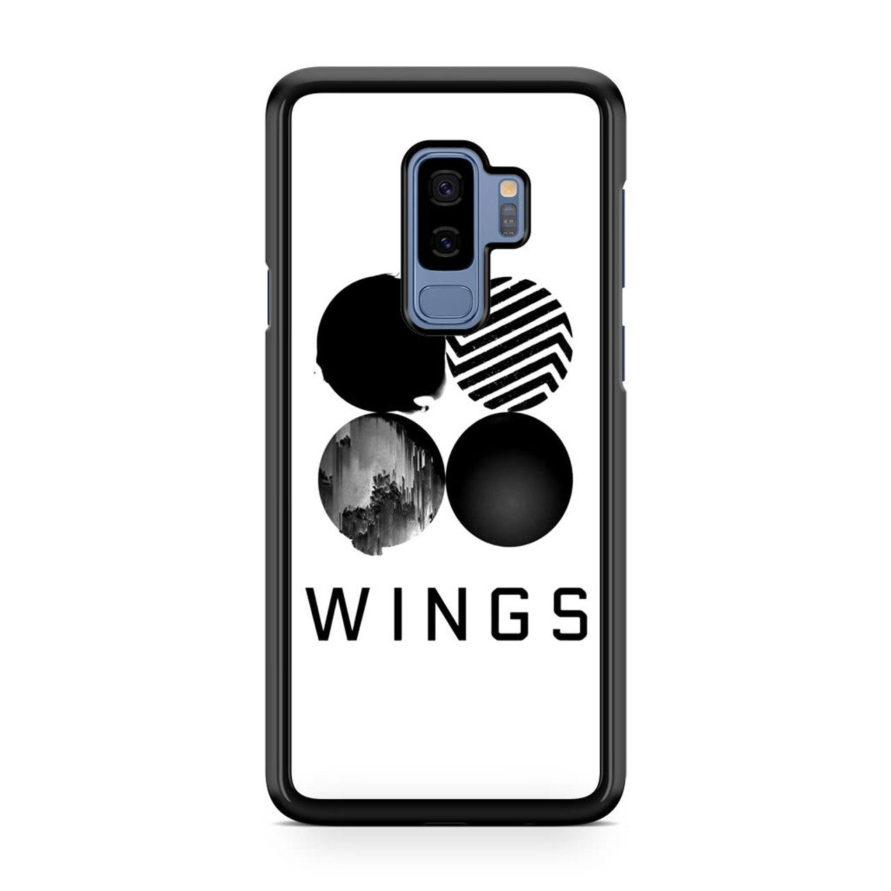 info for e7424 bcd75 BTS Wings Samsung Galaxy S9 Plus Case