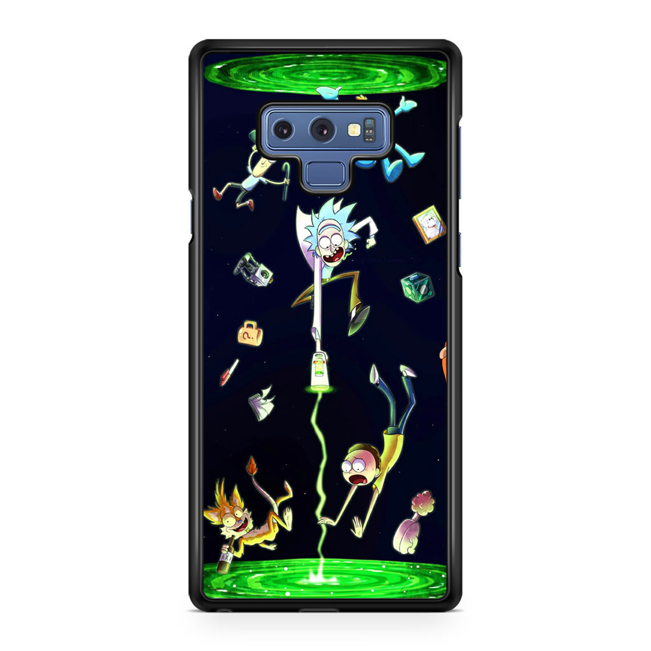 detailed look 6eb57 6edc2 Rick And Morty Fan Art Samsung Galaxy Note 9 Case