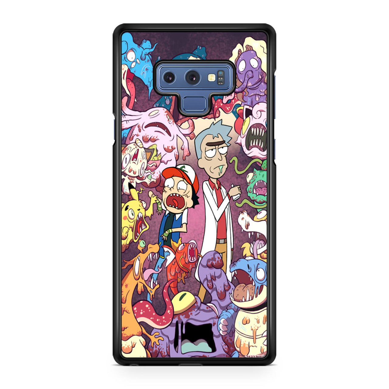 sale retailer 179e6 a552a Rick And Morty Pokemon1 Samsung Galaxy Note 9 Case