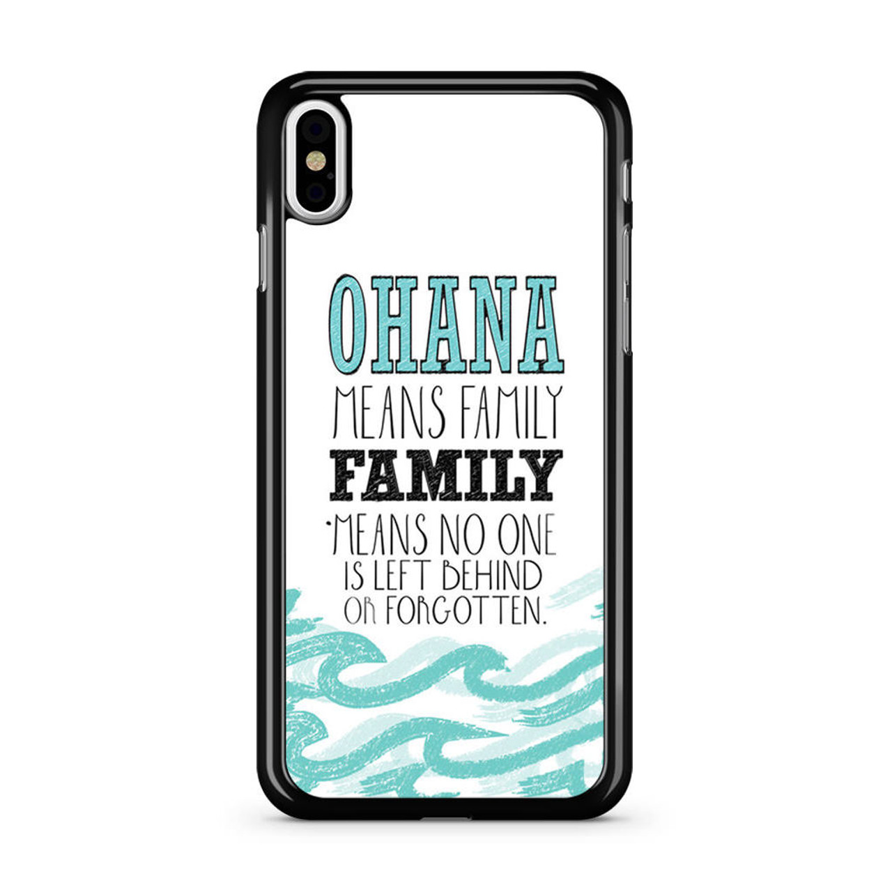 free shipping bbf70 f4ced Ohana Means Family Lilo and Stitch Disney iPhone Xs Case