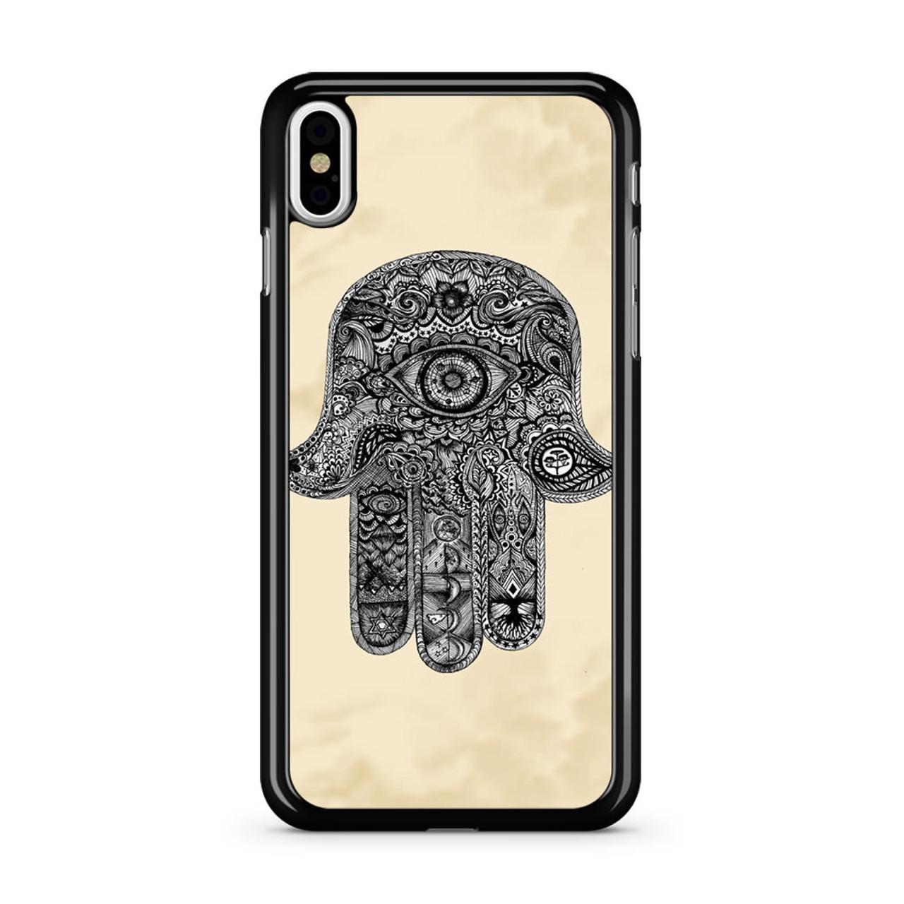 Evil Eye Hamsa Iphone Xs Case