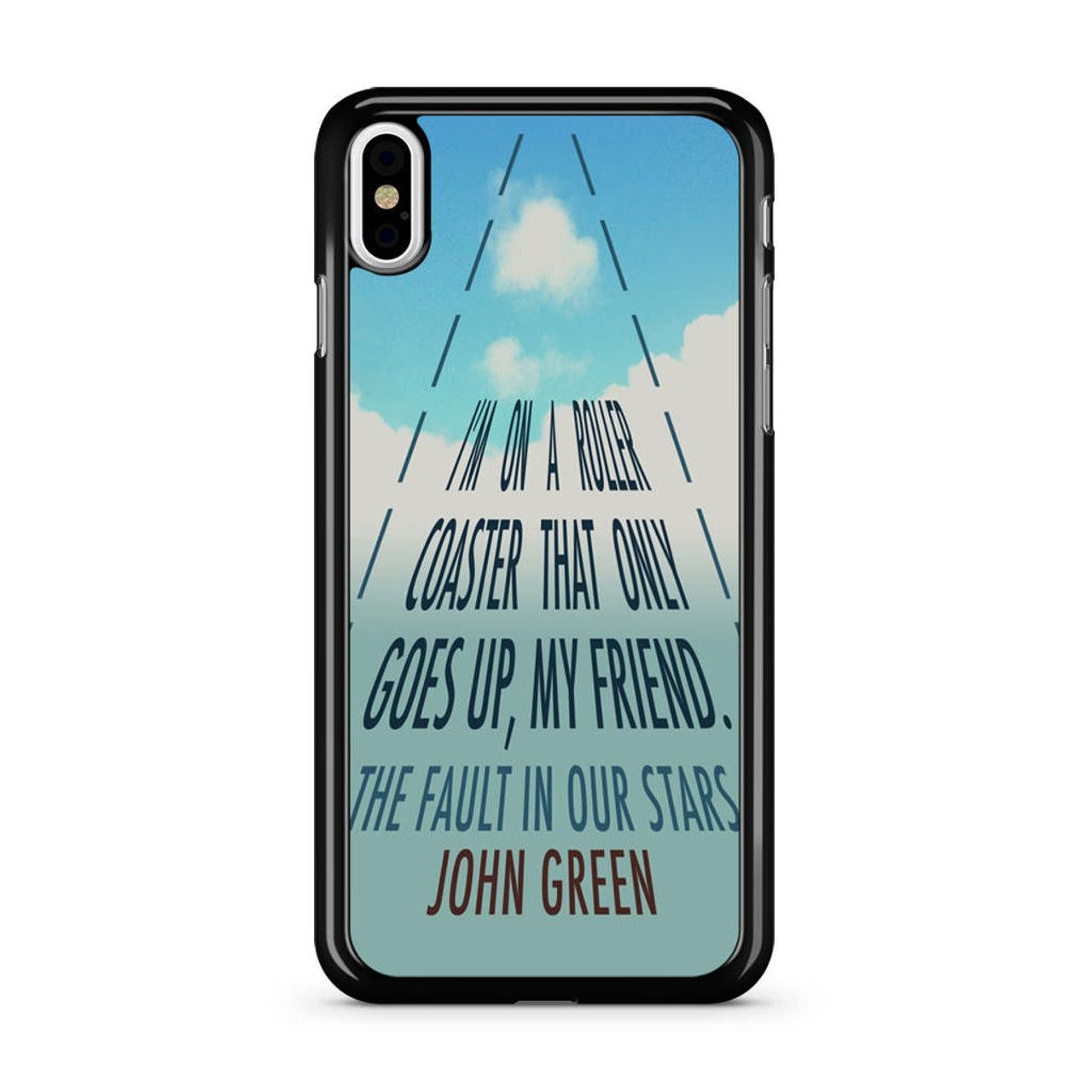 The Fault In Our Stars Quotes John Greens Quotes Iphone Xs Case