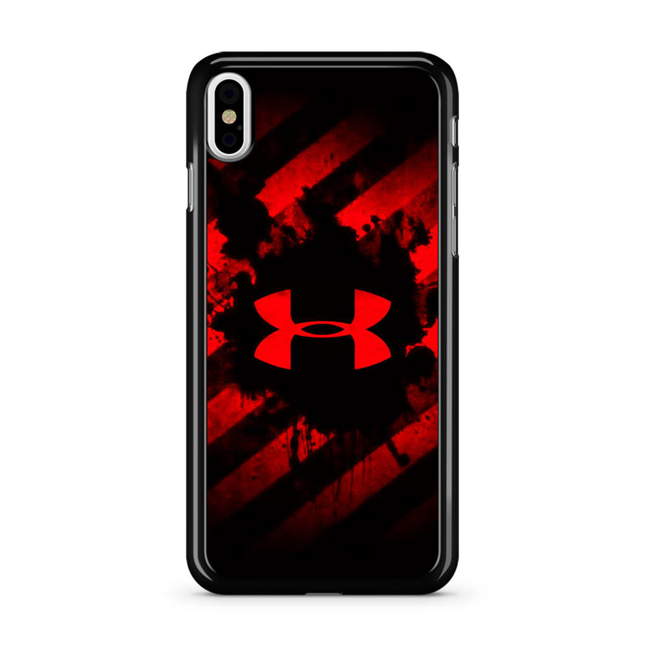 hot sale online 96cf8 e880b Under Armour Red Art iPhone Xs Case