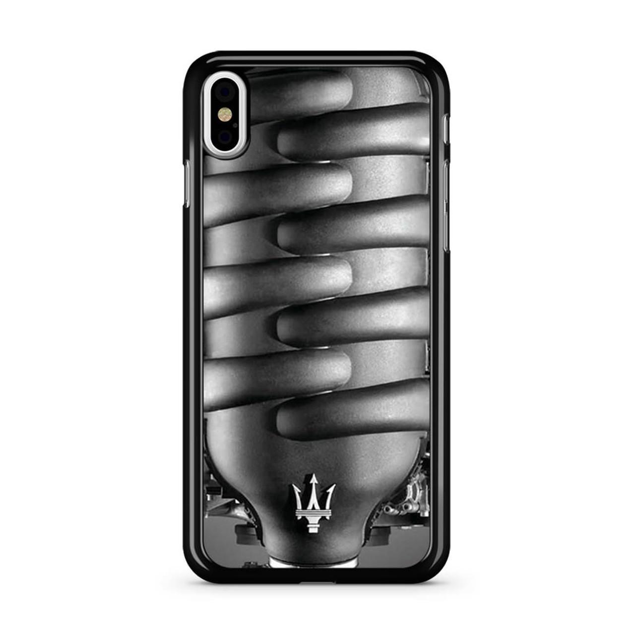 buy online 295d3 b0c5a Maserati Engine iPhone Xs Case
