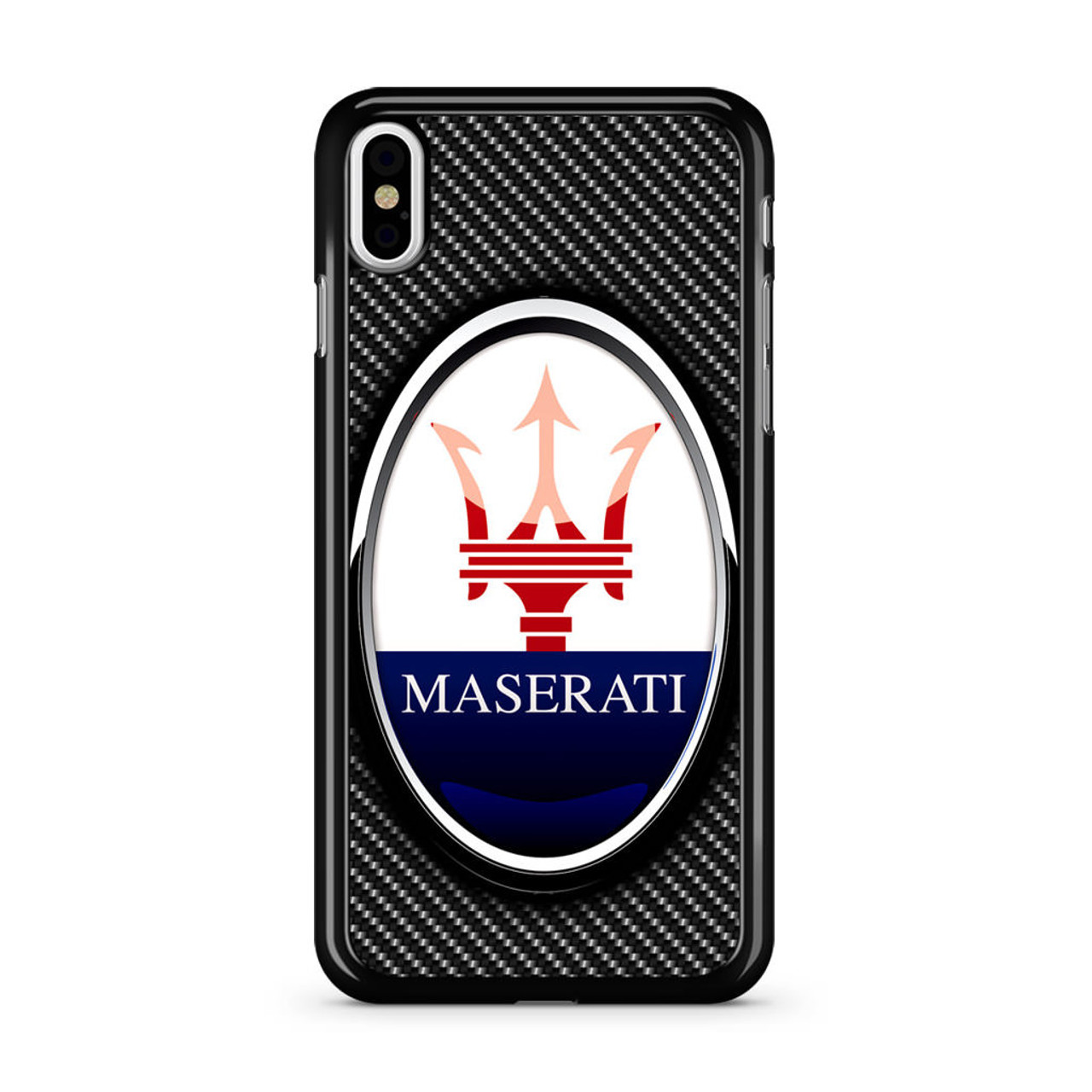 premium selection 4715b 825cc Maserati Logo iPhone Xs Case