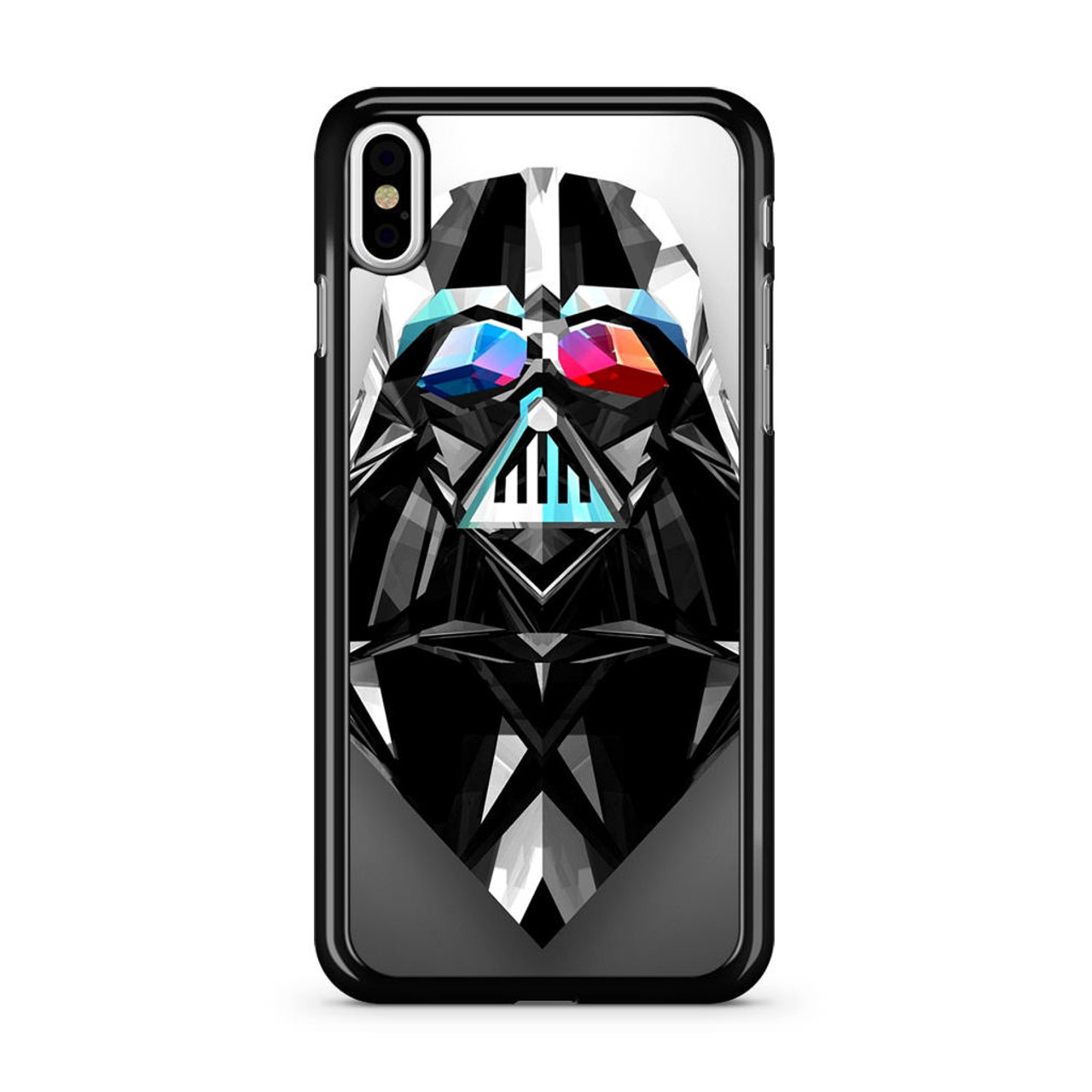 8ef925ec39a72 Movie Starwars Darth Vader Artistic Geometric iPhone Xs Case