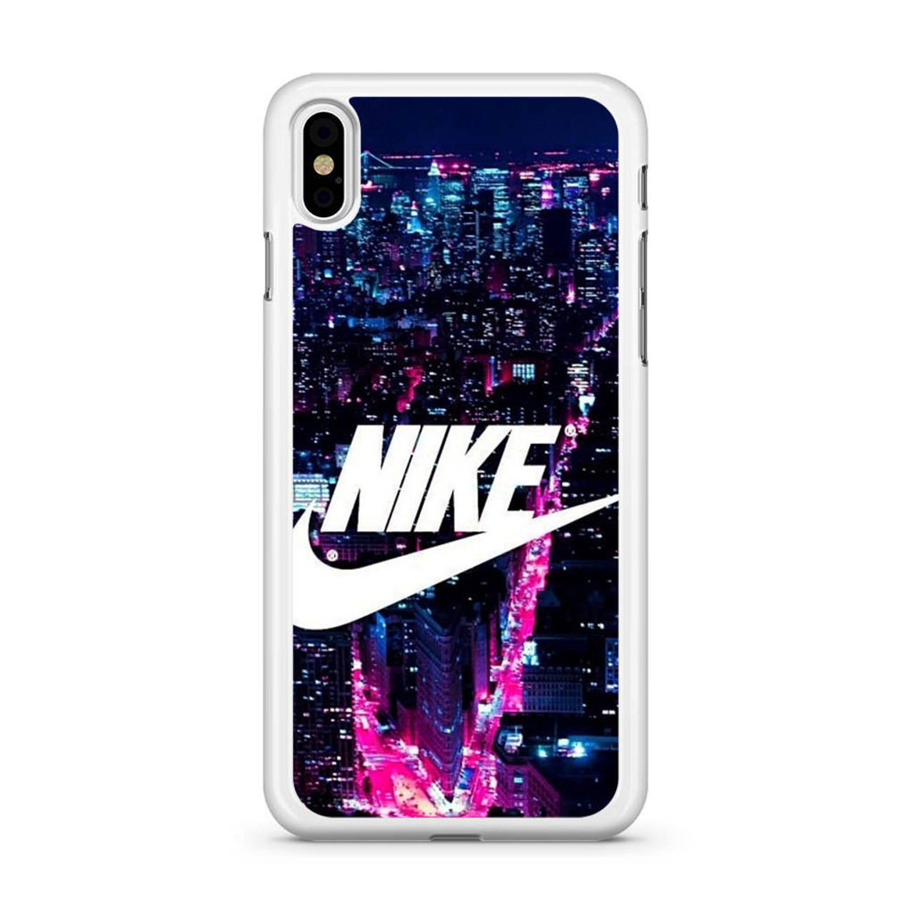 Nike Logo New York City iPhone Xs Case - CASESHUNTER