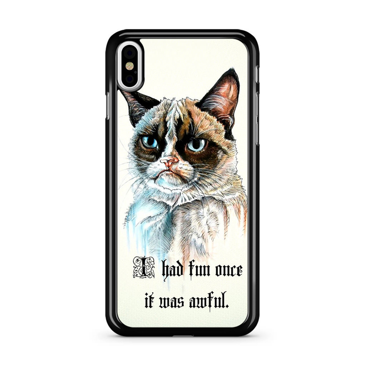 buy popular 7f79e ea2a2 Grumpy Cat iPhone Xs Case