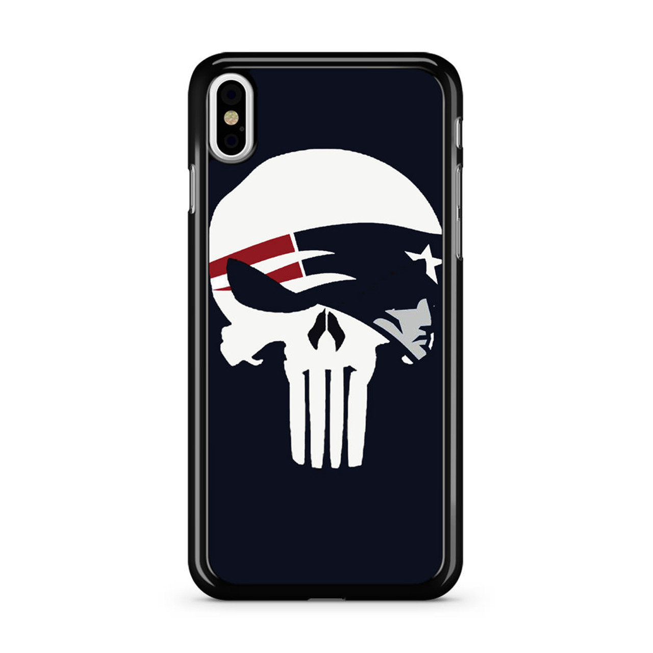 buy online 3edb2 5746d Patriots Punisher Logo iPhone Xs Case