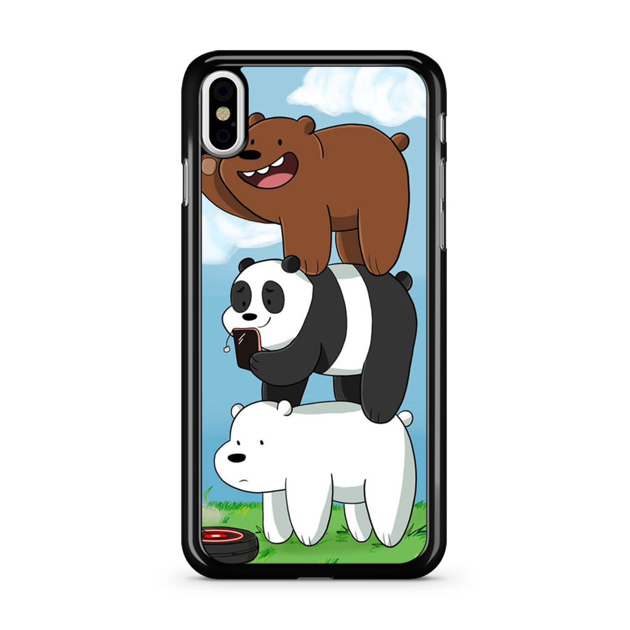 new style 41b84 f2a88 We Bare Bears Grizz iPhone Xs Case