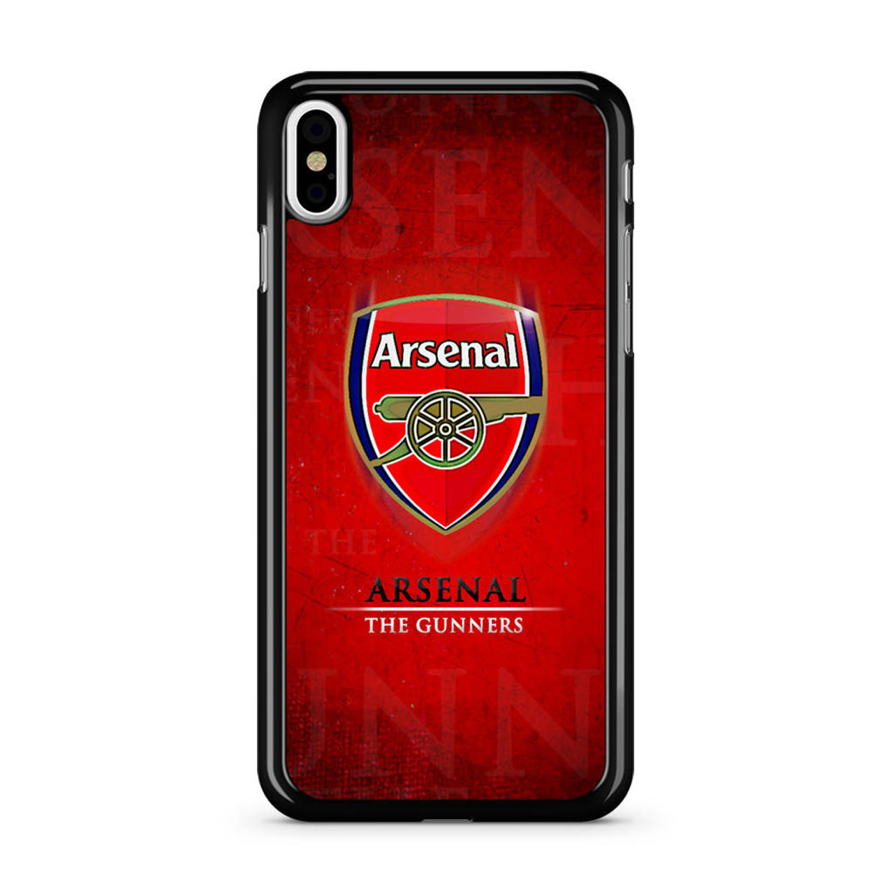 newest b10b3 fd0ef Arsenal The Gunners iPhone XS Max Case