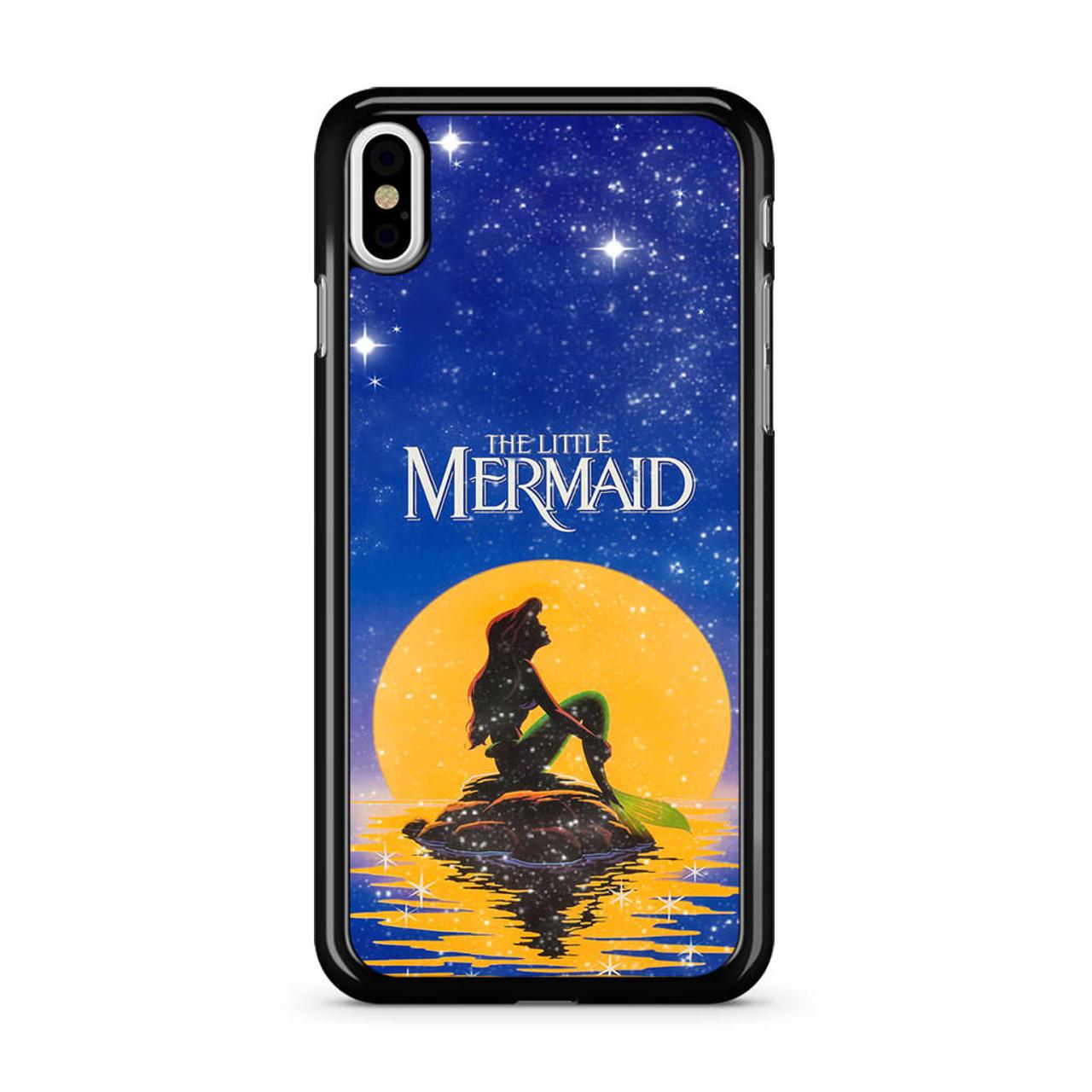 best service f5533 37402 Disney The Moon Ariel The Little Mermaid iPhone XS Max Case