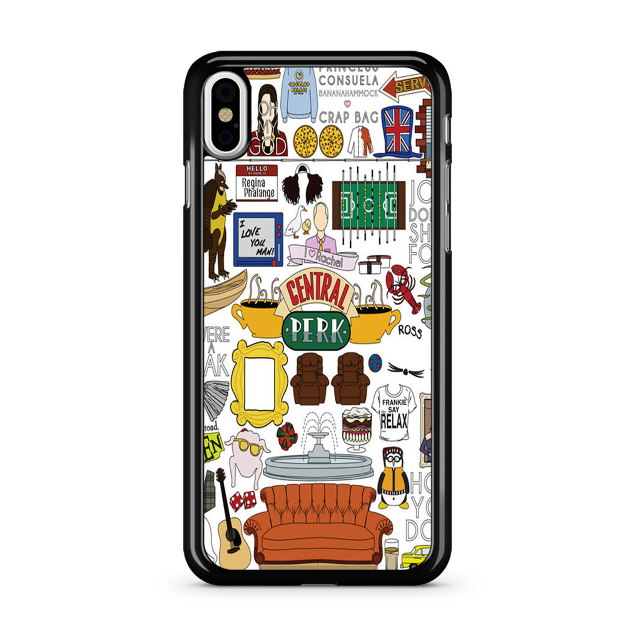 new style 7f46a c4fb9 Friends Tv Show Central Perk iPhone XS Max Case