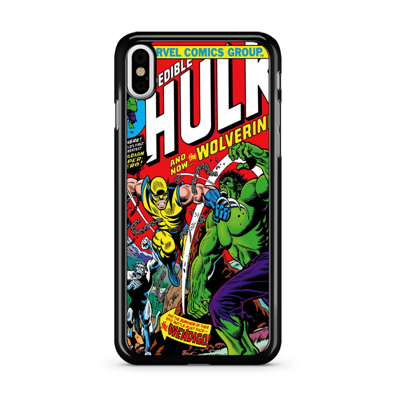 iphone xs marvel case
