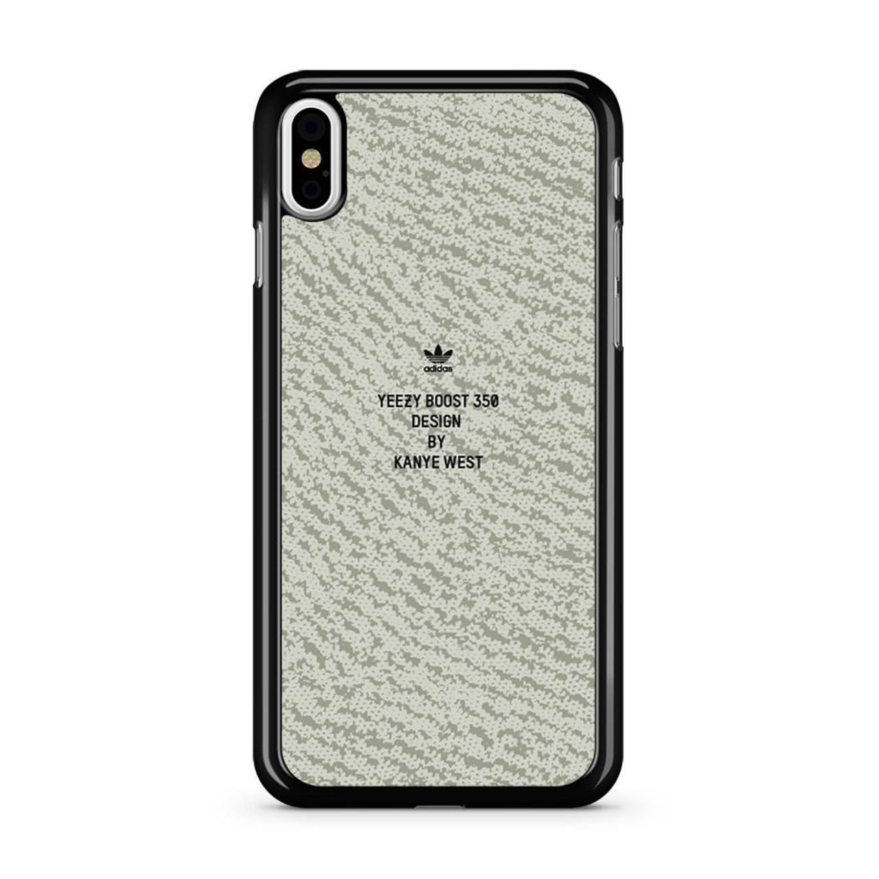 new product 87152 ab54c Yeezy 350 Boost Pattern iPhone XS Max Case - CASESHUNTER