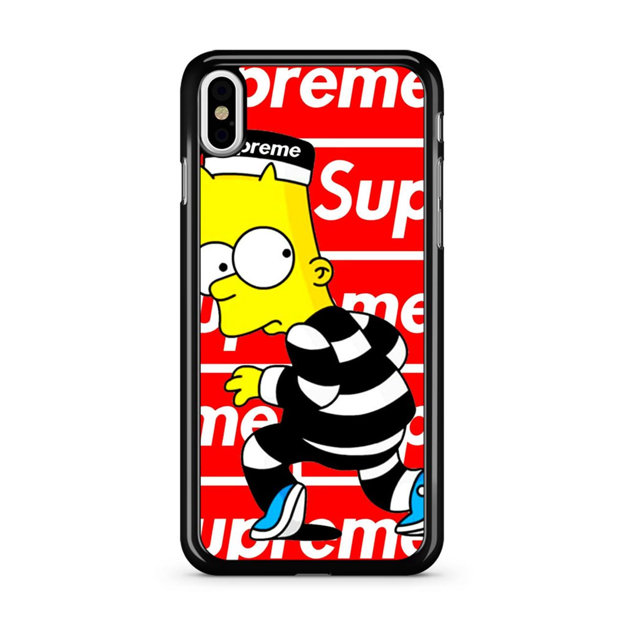 the latest be97f 5e720 Supreme Bart iPhone XS Max Case